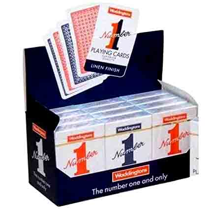 WADDINGTONS NUMBER 1 PLAYING CARDS