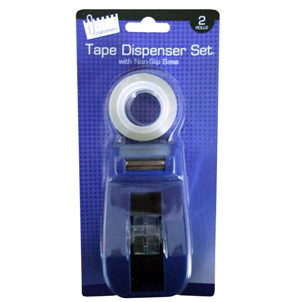 J/S CLEAR ADHESIVE TAPE & DISPENSER
