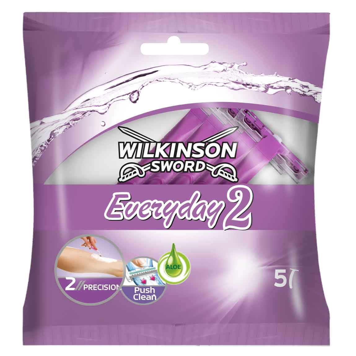 W/S EVERYDAY 2 FEMALE RAZORS 5PK