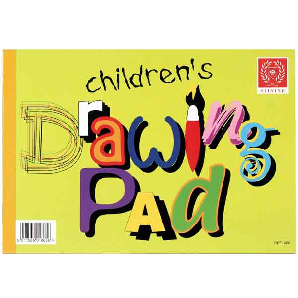 SILVINE CHILDRENS DRAWING PAD
