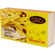 GSD HOUSEHOLD MATCHES 250 PACK