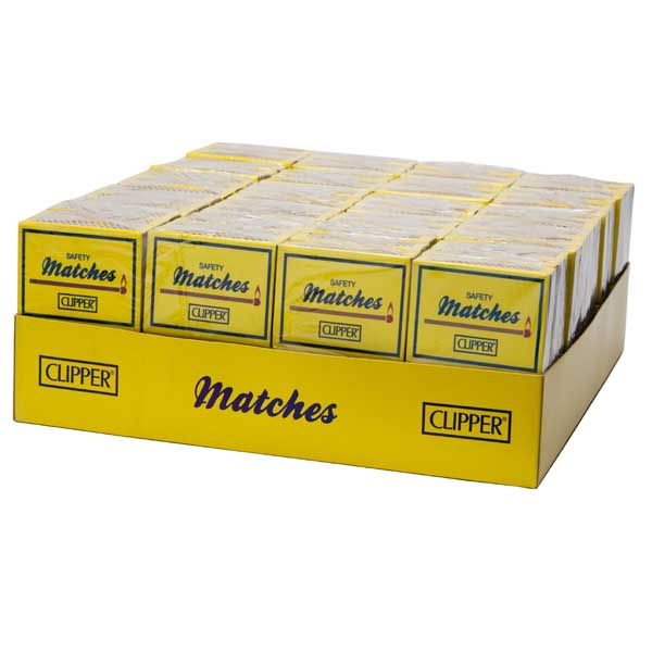 CLIPPER SAFETY MATCHES 40 PACK