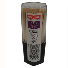 CAROLINE COCKTAIL STICKS 150 PACK